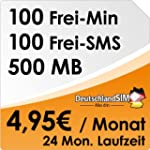 DeutschlandSIM ALL-IN 100 [SIM & Micr...