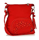 #5: Sling Bag Pick Pocket Women 's Sling Bag (Red,Slredemb39)