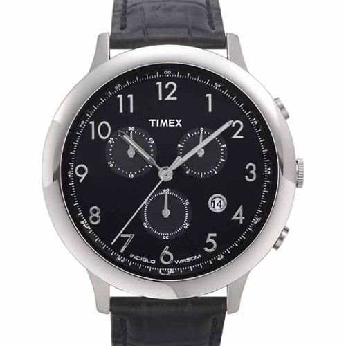 Timex Men's Chronograph Oversize Watch #T2F561 - Buy Timex Men's Chronograph Oversize Watch #T2F561 - Purchase Timex Men's Chronograph Oversize Watch #T2F561 (Timex, Jewelry, Categories, Watches, Men's Watches, Dress Watches, Leather Banded)