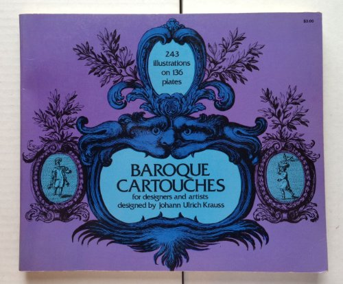 Baroque Cartouches for Designers and Artists (Dover pictorial archive series)
