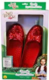 The Wizard Of Oz Deluxe Dorothy Costume Sequin Slippers Adult
