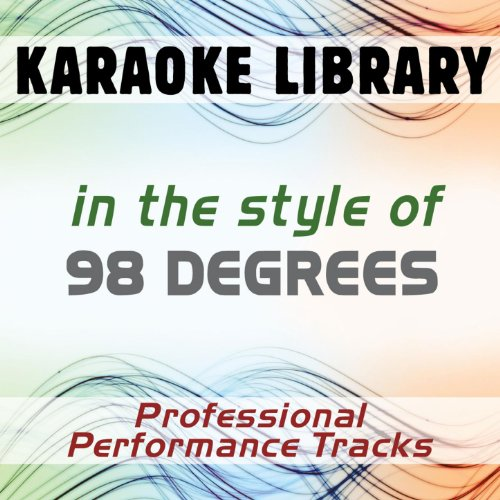 I Do (Cherish You) (Karaoke Version) [In The Style Of 98 Degrees]