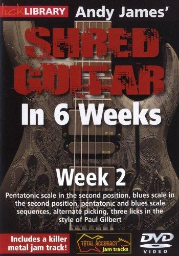 Hal Leonard 393159 Andy James' Shred Guitar in 6 Weeks, Week 2 DVD
