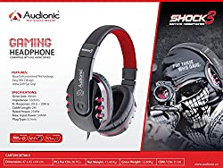 Audionic Shock 3 Gaming Headphone with Ultra Soft Ear Grips
