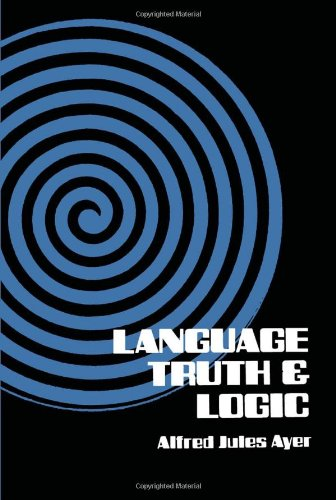Language, Truth and Logic (Dover Books on Western...