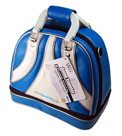 Wii Game Traveler Brunswick Bag - Blue