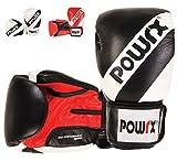 Trainings-Boxhandschuhe Profi Echt-Leder Damen Herren Boxing Gloves 10 12 14