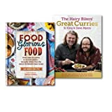 Hairy Bikers Britain Great Curries Collection 2 Books Set, (Food Glorious Food and The Hairy Bikers' Great Curries)