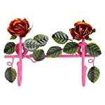 Home Decor Hanger With Two Hook in Pink by Wonderland