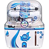 DEAL AQUAGRAND AQUA SWIFT RO+UF+UV+MINERAL+TDS CONTROLLER 10 Ltr ROUVUF Water Purifier With Alkaline Technology