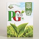 PG tips Black Tea, 80 Count Box 80pyramid tea bags(Pack of 3)