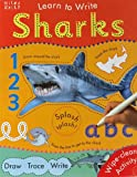 Shark Learn To Write Sticker Book - Educational Learning Toy