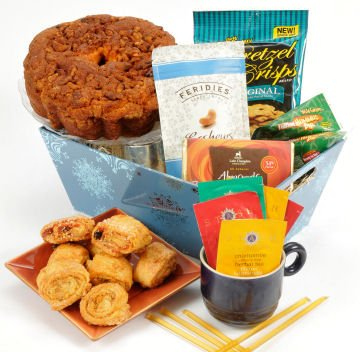 Hanukkah Greetings Gift Basket