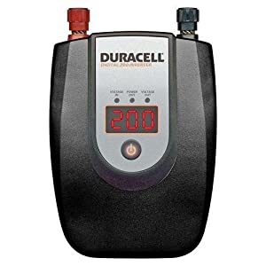 Duracell 813-0207 200 Watt DC to AC Digital Power Inverter