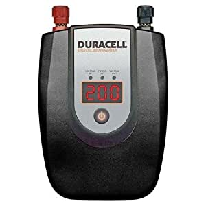 Duracell 813-0207 200 Watt DC to AC Digital Power Inverter (Discontinued by Manufacturer)