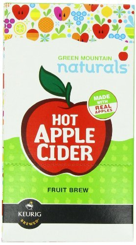 Green Mountain Naturals Hot Apple Cider, K-Cup Portion Pack For Keurig K-Cup Brewers, 24-Count (Pack Of 2) front-611246