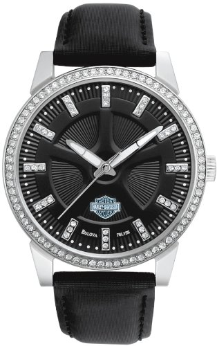 Harley-Davidson Women's Bulova Watch. 76L158