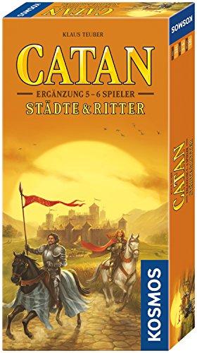 Kosmos 695514 - Catan - Städte & Ritter Ergänzung für 5 - 6 Spieler