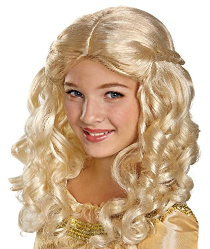 Disguise Disney Maleficent Movie Girls Aurora Wig