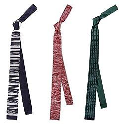 Bundle Monster Men's Neck Tie Set