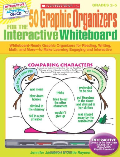 50 Graphic Organizers for the Interactive Whiteboard: 