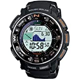 Casio PRO-TREK Mens Radio Controlled Solar Digital Watch PRW-2500-1ER with Resin Strap