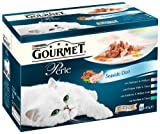 #7: Gourmet Perle Seaside Duos Pouch 12 x 85 g (Pack of 4)