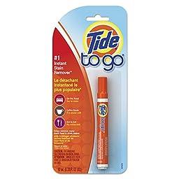 Tide PGC 01870 Go Stain Remover Pen, 0.338 oz. (Pack of 6)