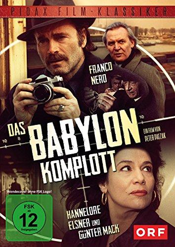 Das Babylon-Komplott / Brisanter Thriller mit Franco Nero, Hannelore Elsner und Günter Mack (Pidax Film-Klassiker)
