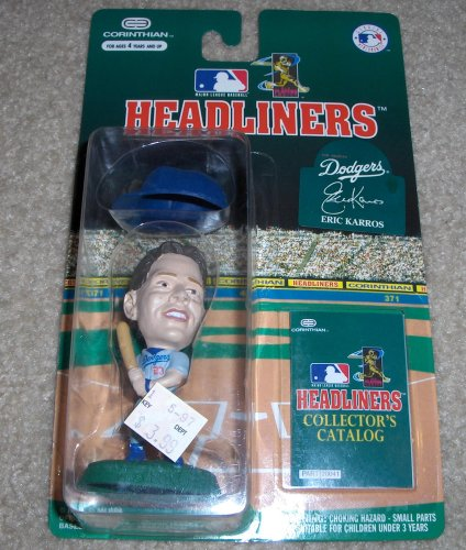 Picture of Corinthian 1996 Eric Karros MLB Headliners Figure (B000OR7SS6) (Corinthian Action Figures)