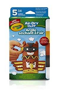 Crayola Air Dry Clay Variety Pack Neutral colors