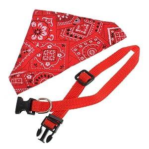 collier laisse foulard bandana pour chien chat animal animalerie. Black Bedroom Furniture Sets. Home Design Ideas