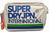 SUPERDRY ALUMINI FOOTBALL/MESSANGER/ INTERNATIONAL/ OUTDOOR SHOULDER BAGS (OPTIC INTERNATIONAL BAG)