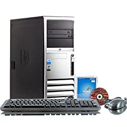 HP Compaq_DC7700 Intel Core 2 Duo 2800 MHz 80Gig Serial ATA HDD 4096mb DDR2 Memory DVD ROM Genuine Windows 7 Professional 32 Bit Desktop PC Computer Professionally Refurbished by a Microsoft Authorized Refurbisher