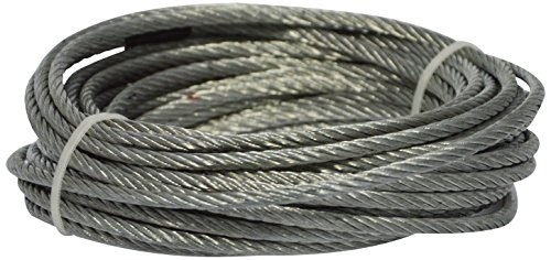 Corderie Italiane 006002673 Fune Acciaio Zinco, 4 mm, 10 m