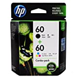 HP 60 CD947FN#140 Ink Cartridge in Retail Packaging, Combo Pack