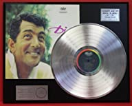 "DEAN MARTIN ""ITALIAN LOVE SONGS"" Platinum LP Record LTD Edition Award Style Collectible…"