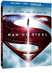 Man of Steel (Blu-ray + DVD + Digital HD with UltraViolet)