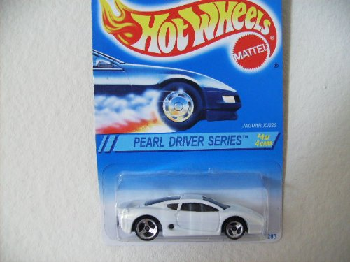 Hot Wheels 1995 Pearl Driver Series (#4 of 4) Jaguar XJ220 Collector Car #296