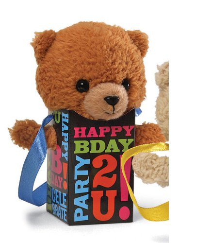 "Pookie Pockets - Birthday 4.25"" Medium Brown"