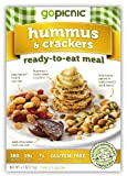 GoPicnic Hummus & Crackers, 4.1 Ounce (Pack of 6)