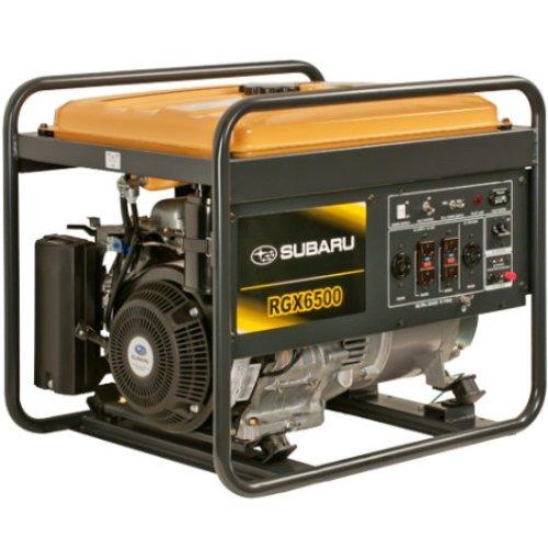 Subaru Rgx6500 Industrial Generator, 6500-Watt