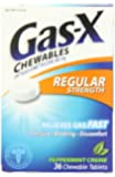 Gas-X Anti-Gas Chewable Tablets, Peppermint Creme, 36 Count Box