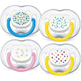 Philips AVENT SCF180/24 BPA-Free Contemporary Freeflow Soothers (6-18 Months) 2 Pack Color may vary