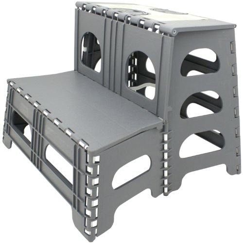 Range Kleen SS2 Double Step Stool, Gray (Range Kleen compare prices)