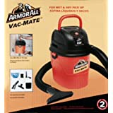 Armorall Vac Mate Wet and Dry Vacuum - 1.5 Gallon Tank by Armor All