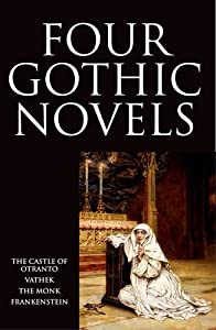 the origin of gothic novels and the use of gothic scenes in frankenstein by mary shelley Frankenstein by mary shelley is, of course a clear example of gothic literature other novels include 'dracula' by bram stoker, 'northanger abbey' by.