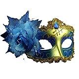 Encaje de estilo veneciano con Rhinestone Liles disfraz máscara de Masquerade Mardi