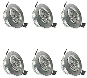 NexScene 2835 SMD Ultra Thin Anti-fogging Round Ceiling Panel LED Recessed Lighting Trim Downlight from GK Lighting