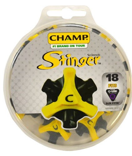 Champ Scorpion Stinger Q-Lok 18 Count Golf Spikes